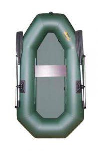 Лодка ПВХ Инзер 1,5 (310) надувная гребная