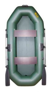 Лодка ПВХ Инзер 2 (240) надувная гребная