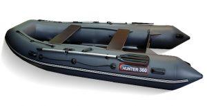 Лодка ПВХ Хантер 360 надувная под мотор