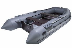 Лодка ПВХ Адмирал 380 надувная под мотор