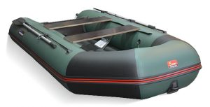 Лодка ПВХ Хантер 320 ЛКА надувная под мотор