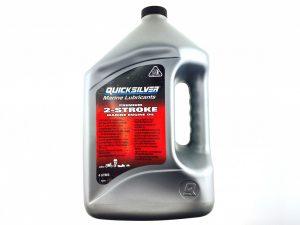 Масло 2-х тактное Quicksilver Premium TC-W3 (4л)