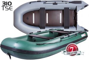 Лодка ПВХ Юкона (YUKONA) 310TSE (AL) надувная под мотор