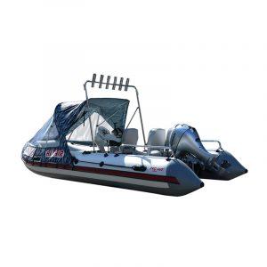 Лодка ПВХ Альтаир PRO ultra 460 надувная под мотор